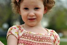 Smocked baby and toddler clothes