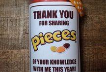 Mushy teacher gifts