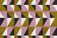 -- moda color geometrico plano -- / by Medio Montevideo