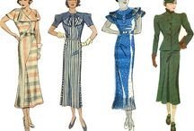 Fashion Inspiration / Detectives, vintage fashion, practicality, muted colors, embroidery