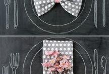 Napkin folding / by Crystal Hunt