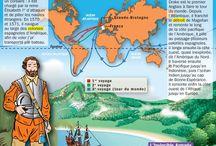 histoire du monde 16es cartes