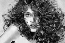 Drawings - Portraits / Collection of fantastic portraits