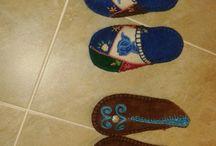 Keçe Çalışmalarım / My Felt Crafts , Handmade