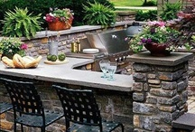 Outdoor Kitchens / Bring your indoors - out! Check out these stunning kitchens that will delight any chef!   outdoorlivingplanet.com