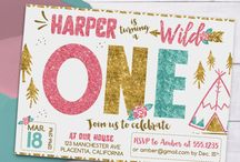 Wild one girl birthday ideas