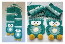Owl scarves