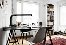 Cool Office spaces / Want to work from home? Check out these amazing office spaces you can look at for inspiration.