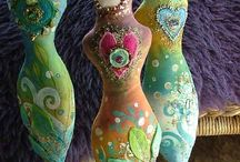 Art Doll, Spirit Dolls! / Beautiful Handmade Spirit Dolls / by Sonja Haynes-De Ryke