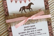 horse birthday party idead