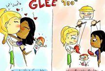 Dibujos Glee