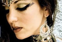 Maquiagem tribalista