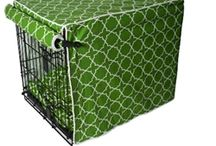 Crate Covers / Bed Covers / Stylish designs for your pets needs AND your decor needs! TOP quality!