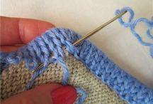 Детали вязания