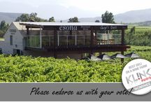 Esona Wines proud nomminations and awards / Sharing the proud accomplishments of Esona Boutique Wines and Caryl's deli at the Esona Old Cellar tasting venue.