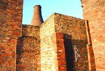 Bottle Kilns / The remaining bottle Kilns