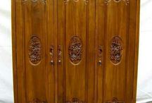 wardrobe / Kythara bali furniture  Wardrop Nice design for your villa , house , Hotel etc  Material : quality wood  Finishing : melamine , antique , white duco , whit