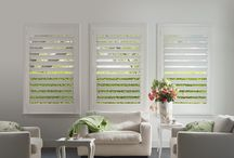 PolySatin Shutters with Smartview / SmartView™ is a patented gear driven system for one-touch control and an unobstructed view. This system completely eliminates the traditional rear or front tilt bar, and with no cords, it is the perfect child and pet-friendly option.