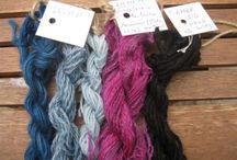 Fiber and dyeing stuff / by Kristina Gundersen-Rudmann