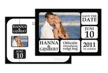 Onze Save the Dates • Onthoud Deze Datum!