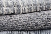 Knit blankets & cushions