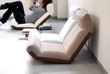 Japanese floor seat style