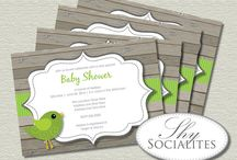 Baby Shower ~ Gender Neutral / Gender neutral baby showers! Great ideas for boys and girls, or gender reveal parties