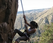 da wall / Climbers use PingPal. Especially the ones waiting for their return...
