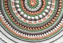 Kolay Örgü Mandala Örnekleri