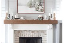 Fireplaces indoors