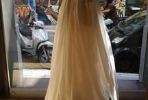 Atelier -show room windows savrani creations &made bride by Antonea