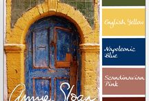 Color Swatches - Annie Sloan / by GotFree Energy.com