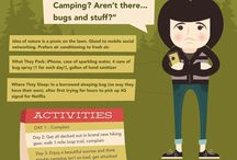 Camping and stuff