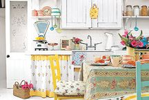 Eclectic Kitchen / by The Pink Lemon Designs