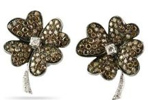 Floral Jewels / Elegant jewels in floral designs make for the perfect fun and flirty statement.