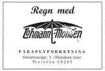 Gamle aviser / kart og reklame fra Bergen - Norge.