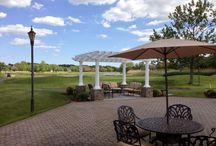 Lawrence Yacht Club Exterior / The Royalton in Lawrence is surrounded by the lush grounds of the Yacht & Country Club
