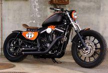 """Sportster Harley """"Bobber 883K"""" by Vida Loca Choppers / Sportster Harley Bobber 883K Designed by Vida Loca Choppers in 2011"""