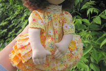 Dolls Created with My Patterns / Куклы, сшитые по выкройкам из книг и мастер-классов Ийи Чураковой (Mamahobby) Dolls created with patterns from books and tutorials by Iya Churakova (Mamahobby)