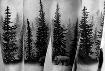 Τατουάζ με δέντρα