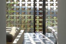 External/ facades / louvers / screenings