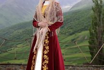 Causasus costumes