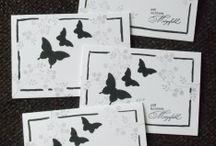Trauerkarte / Handgefertigte Trauerkarten aus meinem Bastelkeller