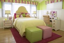 Girls' Room Inspiration / Bedroom decor ideas for girls of all ages. Help them create a space that is just for them.