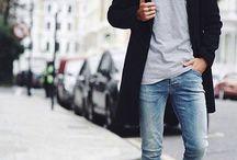 男性のストリートスタイル