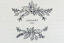 Bullet Journal / Scheduler / Planner Inspo