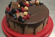Torte dekorieren