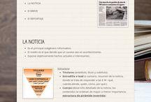 Lengua 1BAT: Flyers, presentaciones, mapas conceptuales...