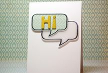 Neat and Tangled - Hello Cards