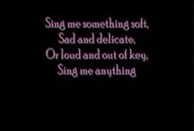 Lyrics / by Caitlin Joschak